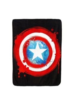 "Captain America Shield 46"" x 60"" Super Soft Throw"