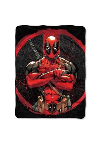 "Deadpool Tough Guy 46"" x 60"" Super Soft Throw"