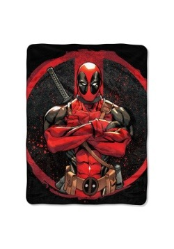 "Deadpool Tough Guy 46"" x 60"" Super Soft Throw"