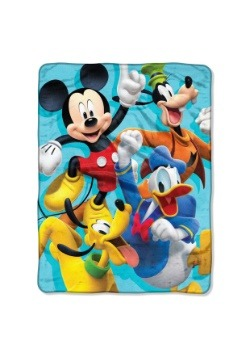 """Mickey Mouse Roadster Racers 46"""" x 60"""" Super Soft Throw"""