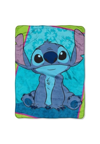 "Lilo & Stitch Bad But Cute 46"" x 60"" Super Soft Throw"
