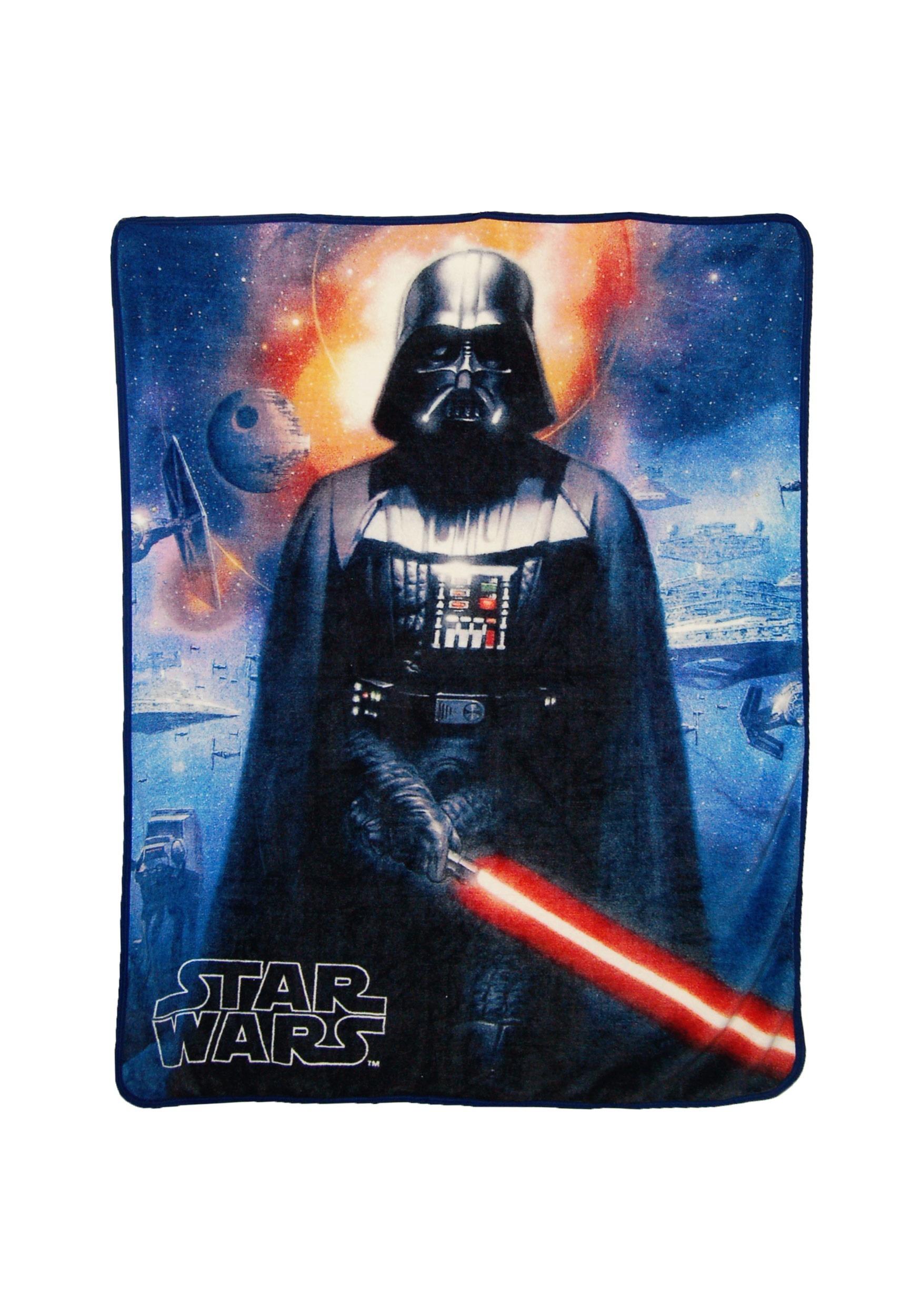Star Wars Cosmic Darth Vader Super Soft Blanket