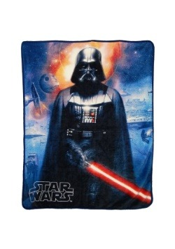 "Star Wars Cosmic Darth Vader 46"" x 60"" Super Soft Throw"