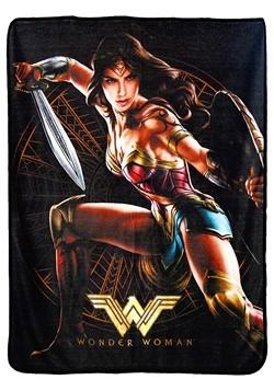 """Wonder Woman Good Soldier 46"""" x 60"""" Super Soft Throw"""