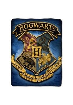 "Harry Potter Hogwarts Crest 46"" x 60"" Super Soft Throw"