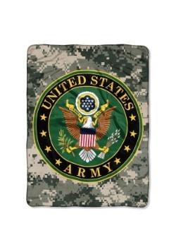 """Army Insignia 46"""" x 60"""" Super Soft Throw"""