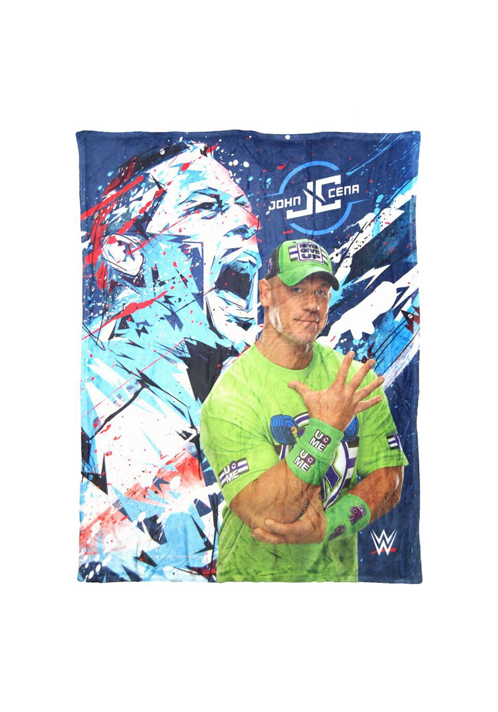 WWE John Cena Super Soft Throw