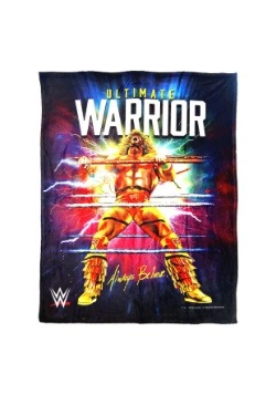 "WWE Ultimate Warrior 46"" x 60"" Super Soft Throw"