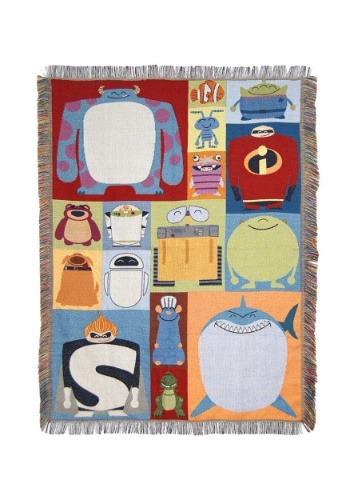 Pixar Characters Tapestry Throw
