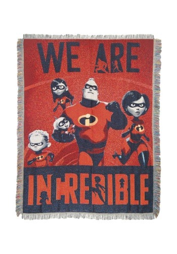 Incredibles 2 Fighter Family Tapestry Throw