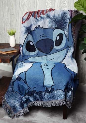Lilo & Stitch Shibori Stitch Tapestry Throw