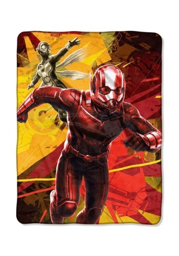 "Ant-Man & Wasp 46"" x 60"" Super Soft Throw"