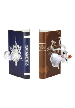Nightmare Before Christmas Zero Light-Up Bookends