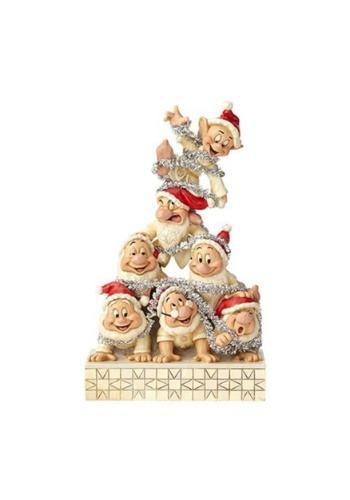 White Wonderland Seven Dwarfs Figure