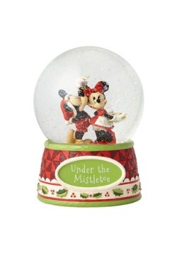 Mickey & Minnie Mouse Snow Globe