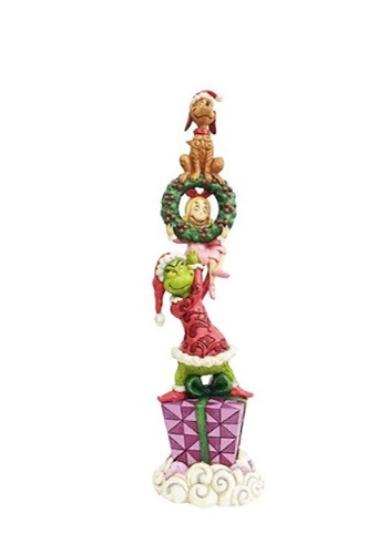 Stacked Grinch Characters Figure