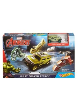 Hot Wheels Hulk Smash Track Set