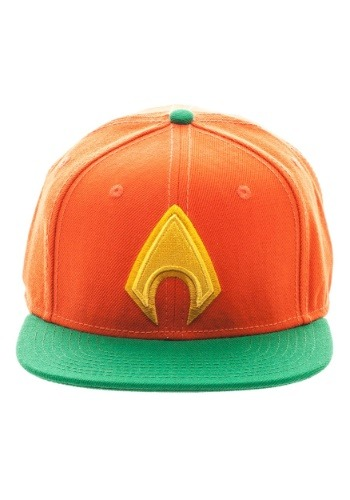 Aquaman Logo Snap Back Hat Update1
