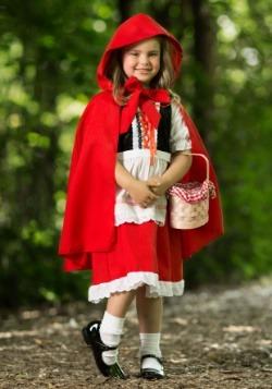 Riding Hood Child Costume4