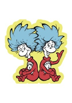 Dr. Seuss Thing 1 & 2- 24 Piece Floor Puzzle