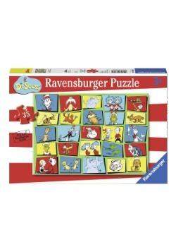 Dr. Seuss Characters 35 Piece Puzzle