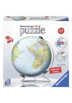 Ravensburger The Earth Globe 540 Piece 3D Puzzle