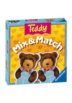 Teddy Mix & Match Card Game