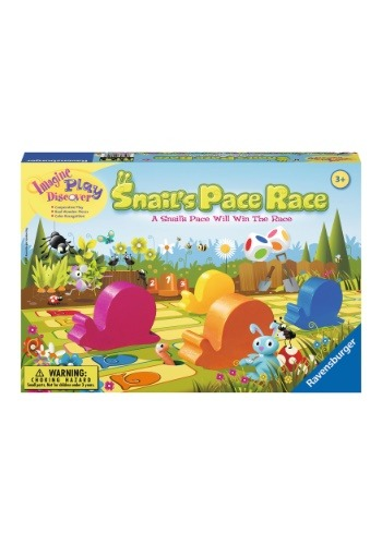 Snail's Pace Race Board Game, Games for
