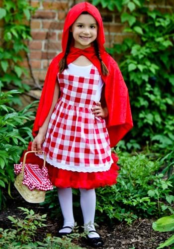 Kids Little Red Riding Hood Tutu Costume