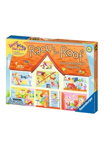 Race to the Roof Children's Board Game