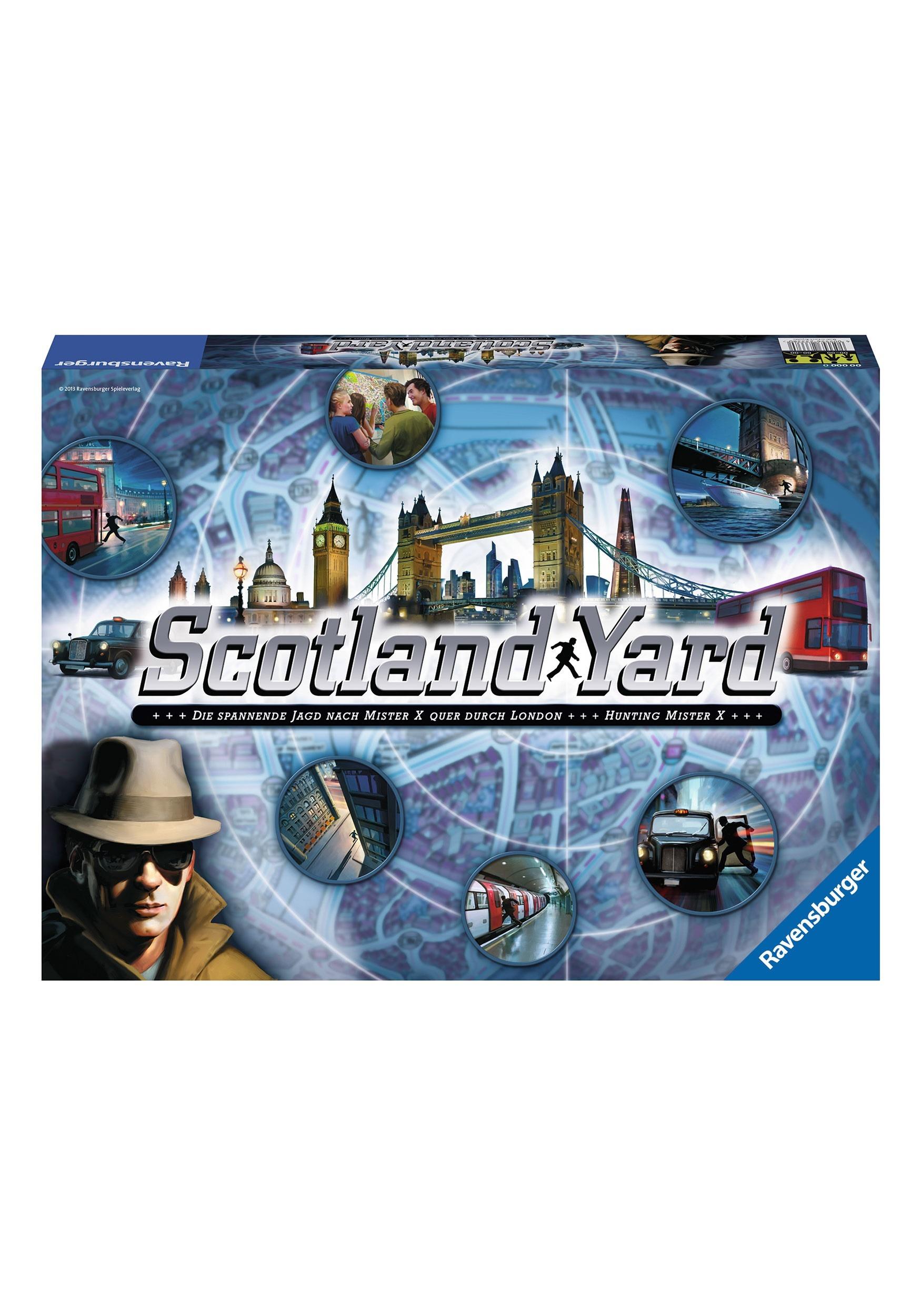 Scotland Yard Family Board Game