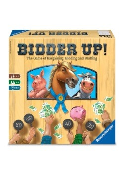 Bidder Up! Family Board Game
