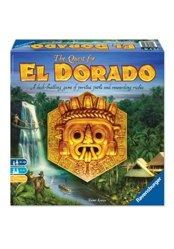 The Quest for El Dorado Family Board Game for Ages 10+