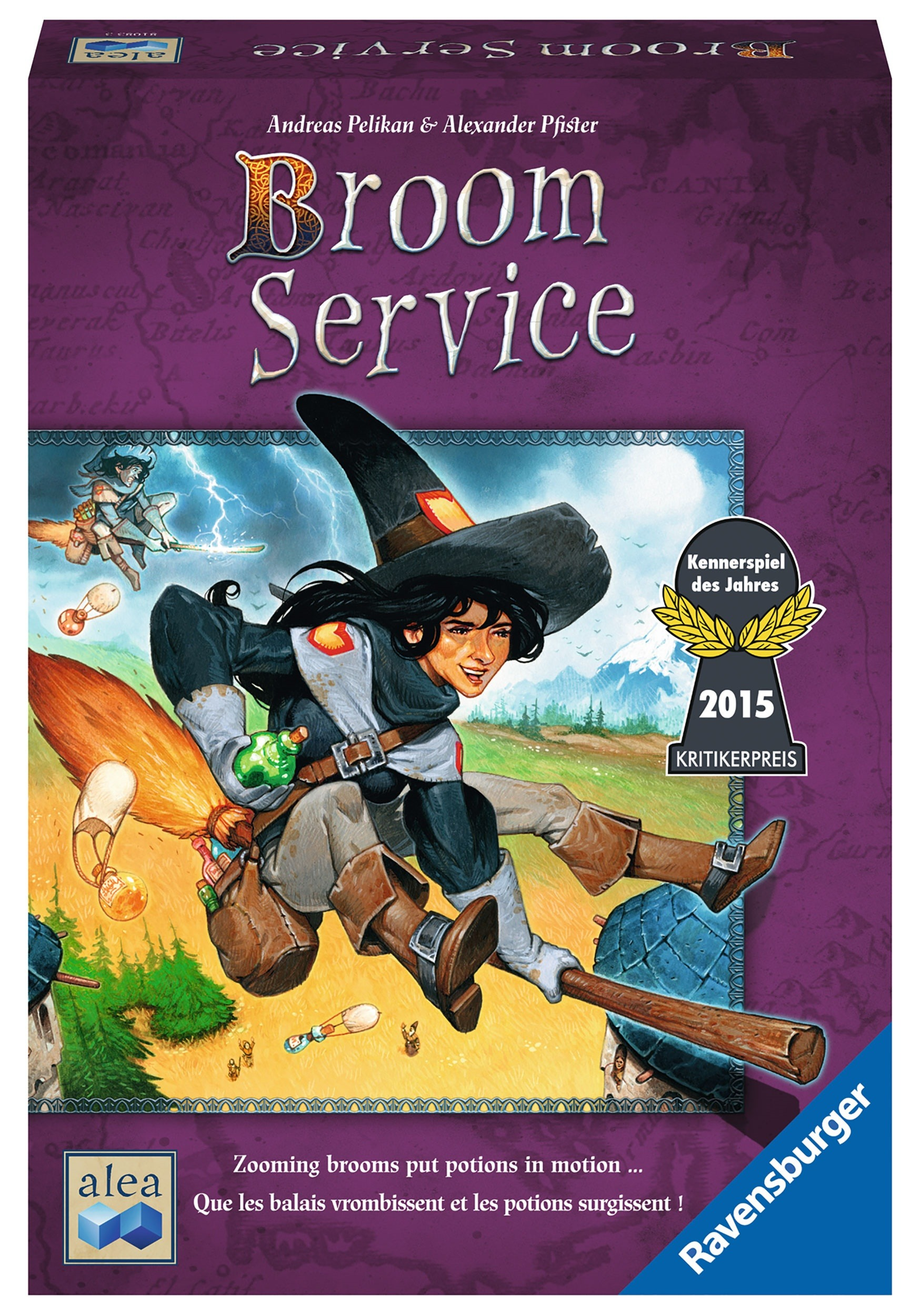 Broom Service Strategy Board Game