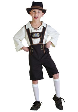 German Lederhosen Boys Costume