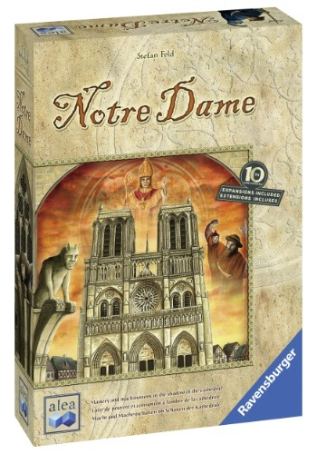 Notre Dame Strategy Board Game for Ages