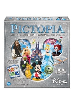 Pictopia: Disney Edition Family Board Game