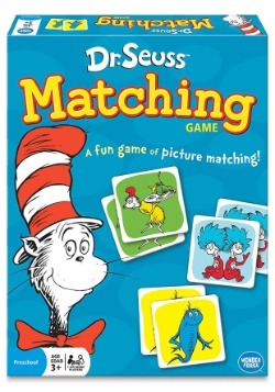 Dr. Seuss Matching Card Game