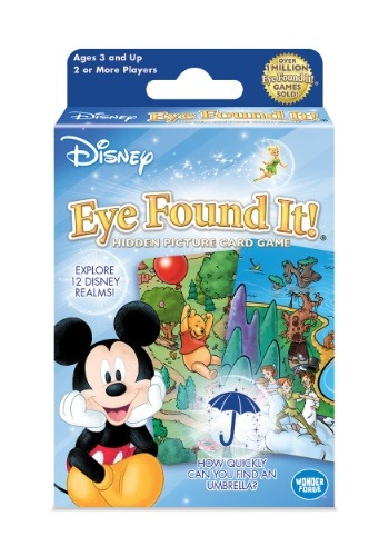 Disney Eye Found It! Hidden Picture Card