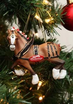"4.75"" Budweiser Clydesdale Horse Molded Ornament1"