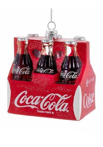 """3.5"""" Coca-Cola Six Pack Molded Ornament1"""
