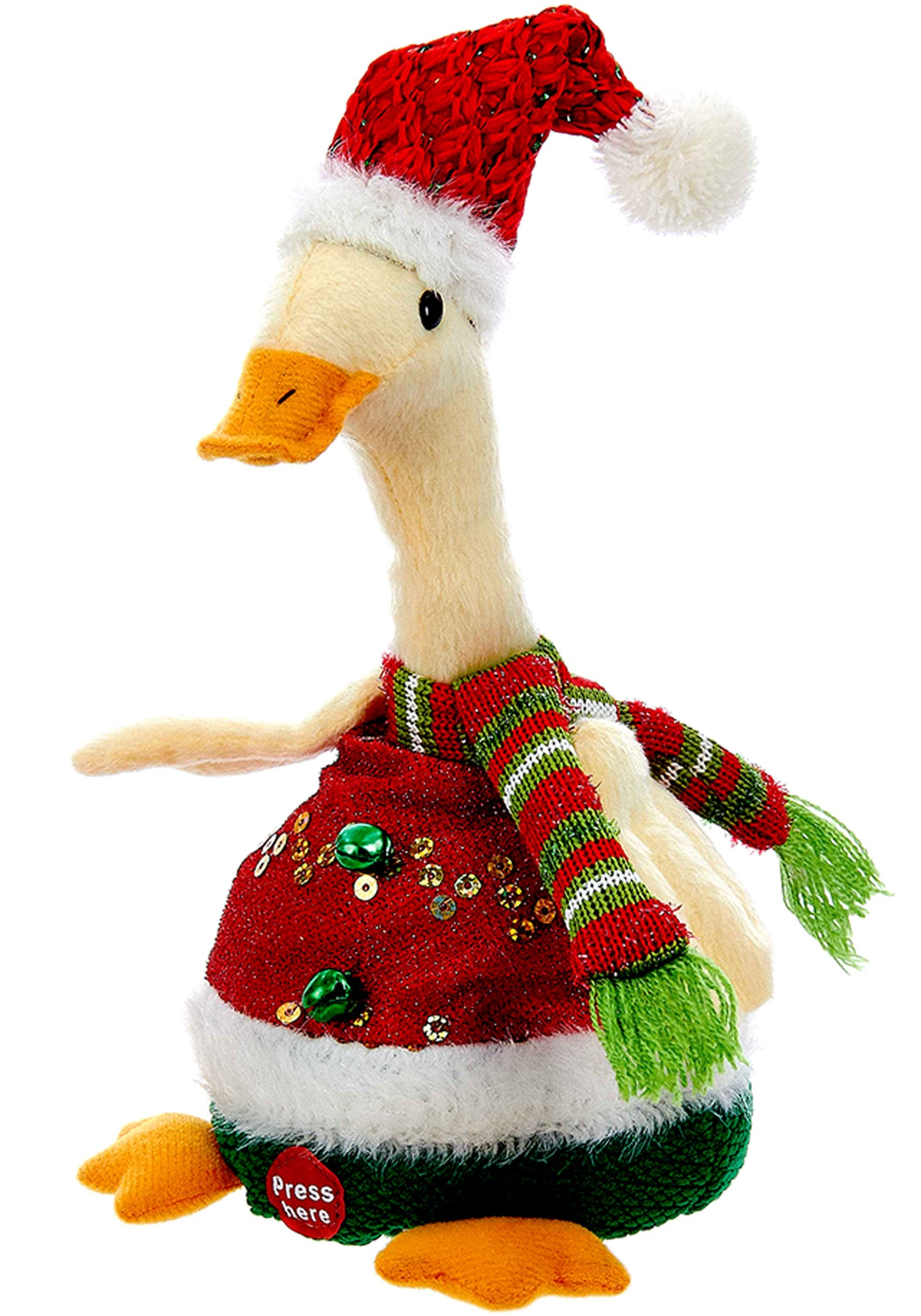 10 repeat back recording christmas duck - Christmas Duck
