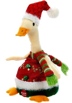 "10"" Repeat-Back Recording Christmas Duck"