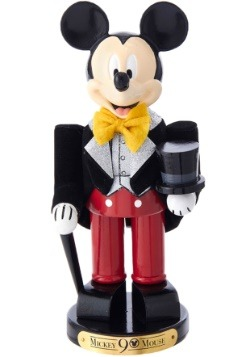 "10"" Mickey Mouse in Tuxedo 90th Birthday Nutcracker"