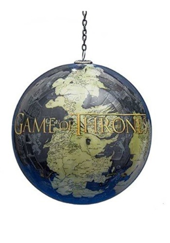 "Game of Thrones Map 3.5"" Ball Ornament"