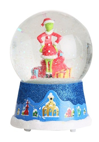 The Grinch Wind-Up Musical Snow Globe