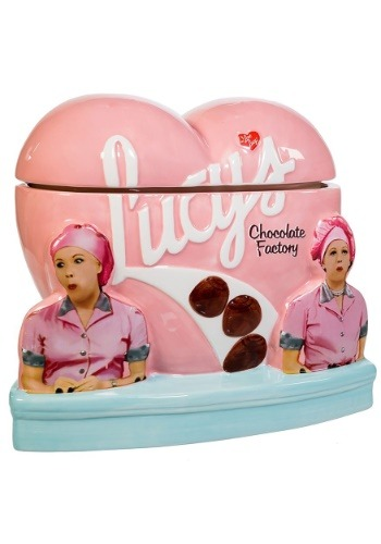 Lucy's Chocolate Factory Cookie Jar