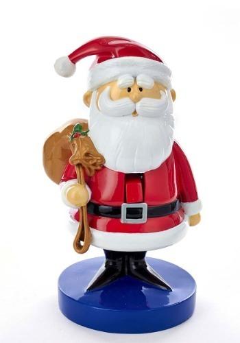 "8.5"" Rudolph Santa w/ Sack Nutcracker"