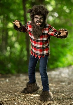 Boys Fierce Werewolf Costume Update Main
