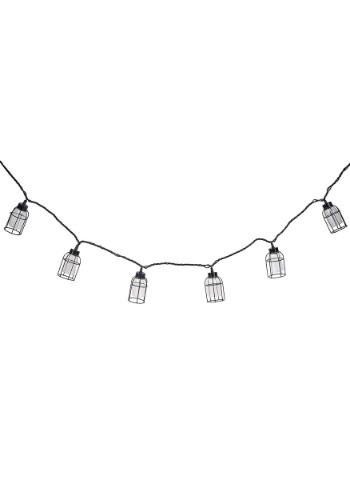 Iron Cage Edison Bulb 10 Piece String Light Set